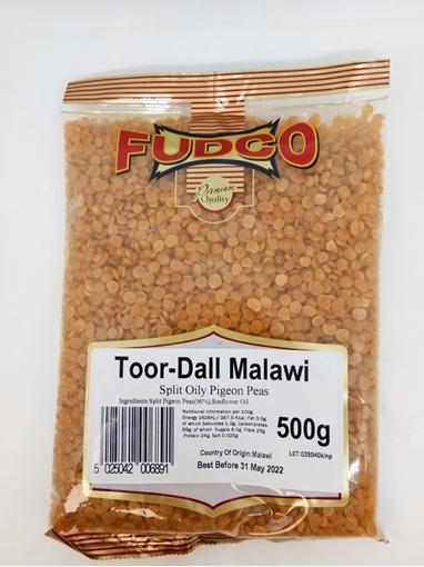 Fudco Toor Dall Malawi Oily 500g