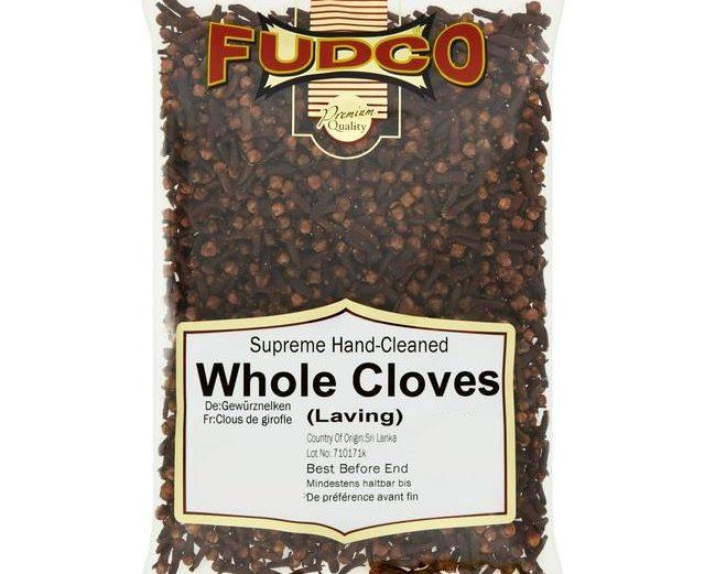 Fudco Whole Cloves 150g