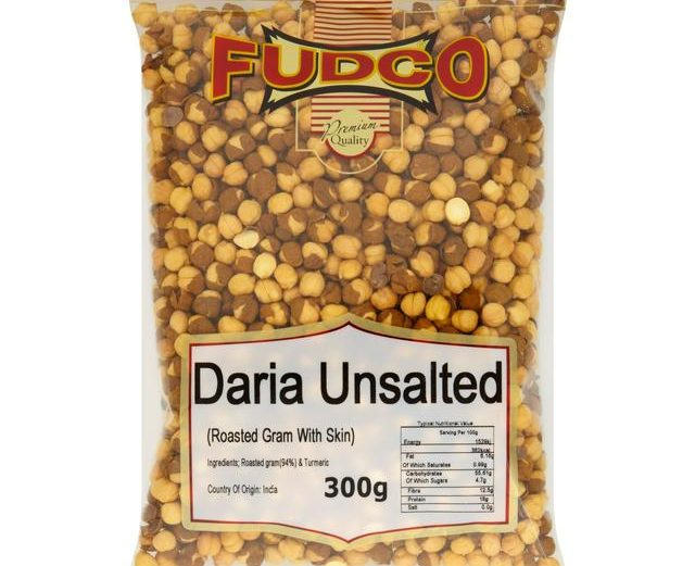 Fudco Daria Unsalted (Roasted With Skin) 300g