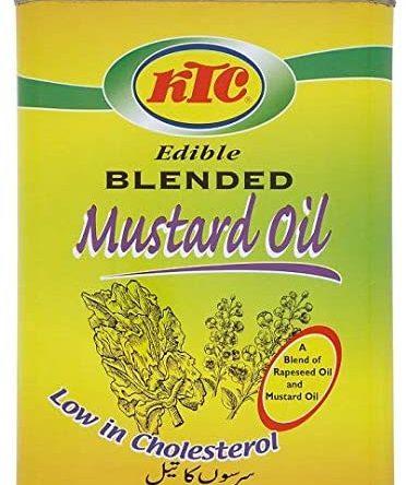 KTC Mustard Oil Blend 4Ltrs